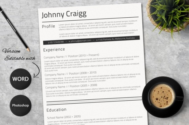 10-clean-word-resume