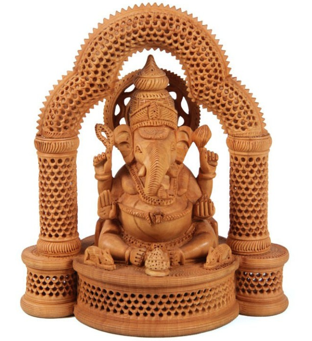 22-wood-carving-ganesha-god