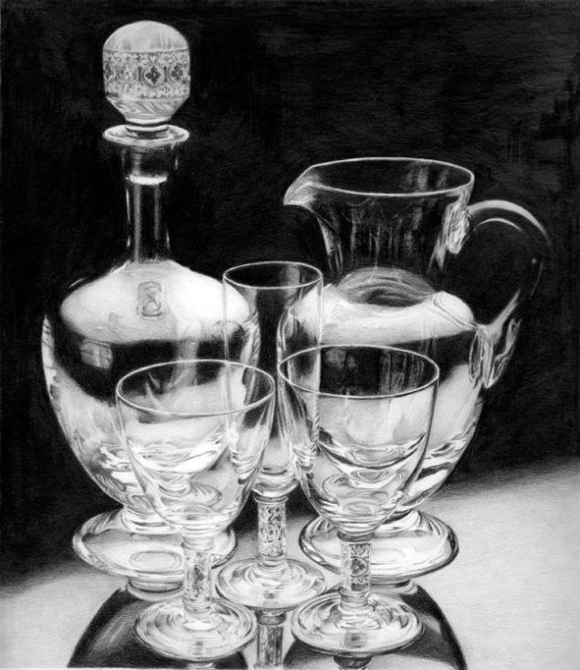 28-glass-bottle-realistic-pencil-drawing-by-rosaria-battiloro