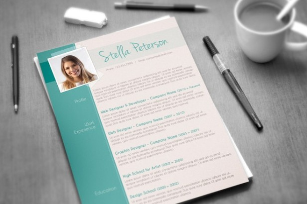 4-fancy-resume-template