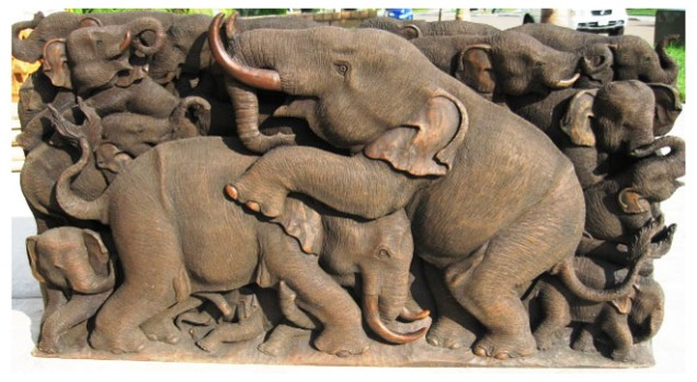 5-elephant-wood-carving