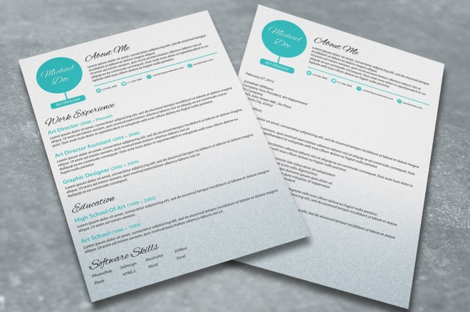 6-modern-resume-with-cover-letter