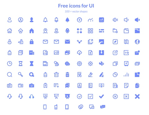 Basic-icons-for-UI