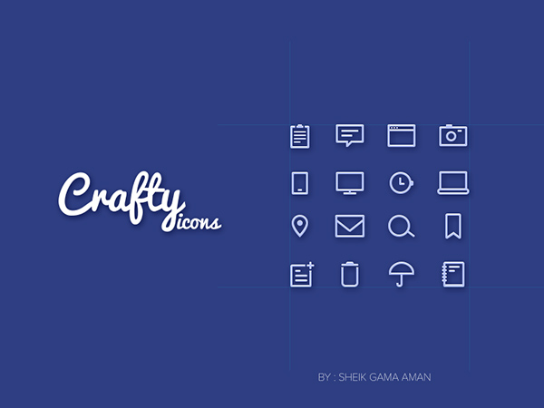 Craftyicons-Free-16-line-icons-PSD