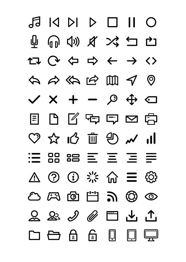 Dripicons-Icon-Set