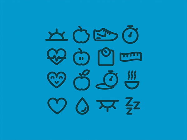 Eat-Well-Icons