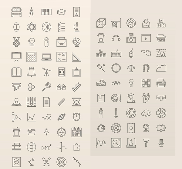 exclusive-100-free-education-icons