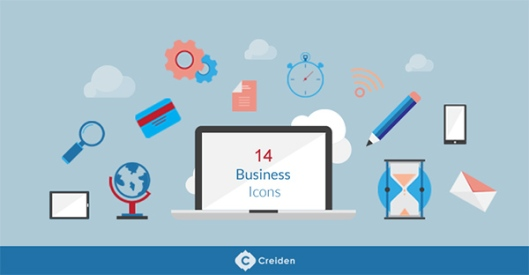 Free-Flat-Business-Vector-Icons