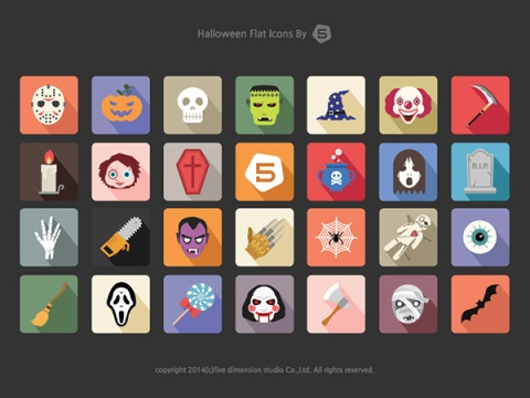 Free-Halloween-Vector-Icon-Set