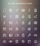 free-line-business-icons-pack