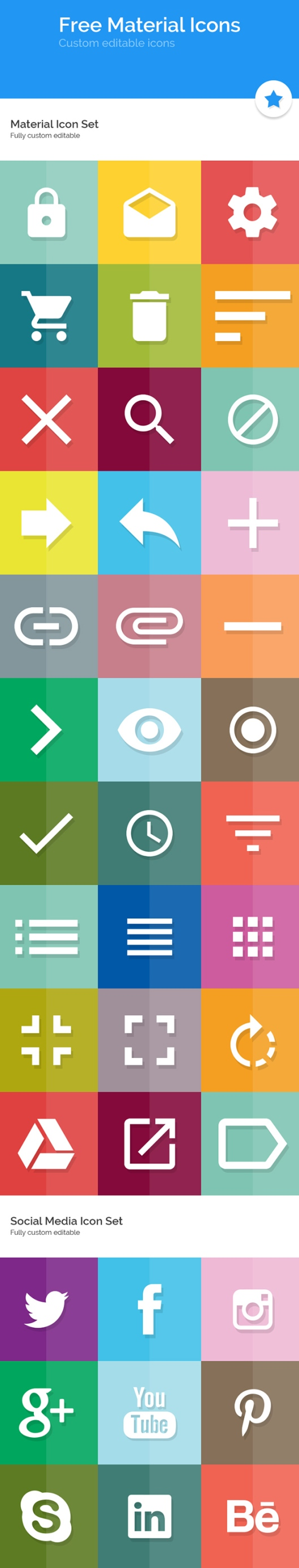 Free-Material-Icon-Set