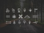 Free-Wilderness-Camping-Icons