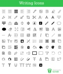 free-writing-icons-sixrevision