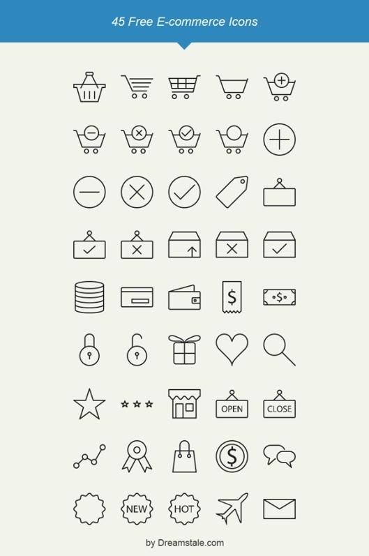 freebie-45-outline-e-commerce-icons-dreamstale