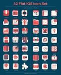 FREEBIES-42-Flat-iOS-Icon-Set