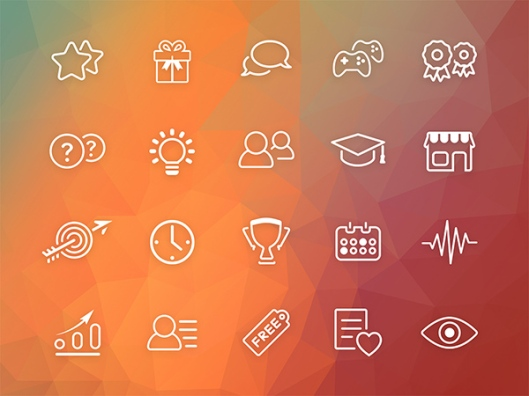 Gamification-icons