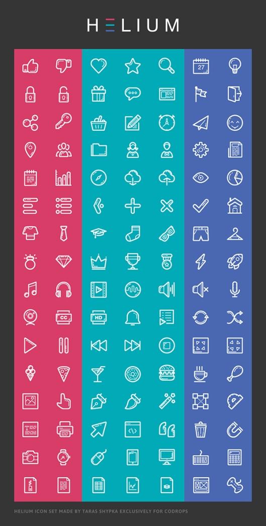 HELIUM-Free-Icon-Set