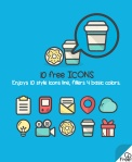 Icons-line-free-be