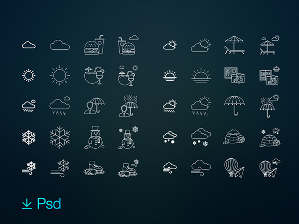 Indra-80-free-weather-activities-icon