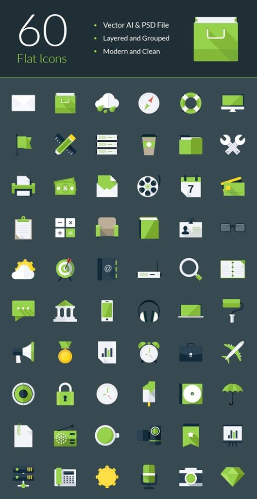 Modern-Flat-Icons