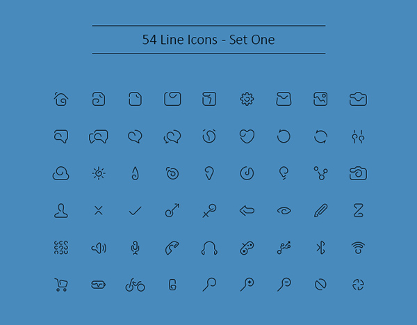Outline-Icons