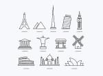 popular-landmark-icons