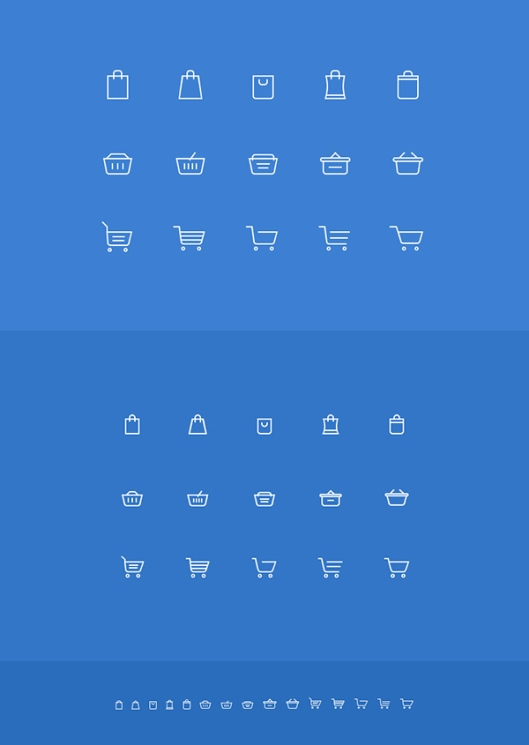 Shopping-Cart-Icons