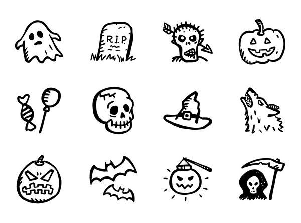 Spooky-Icons-Free