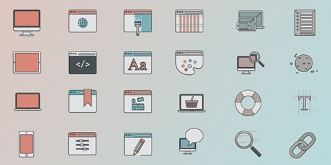 web-design-icon-set