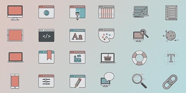 web-design-icon-set